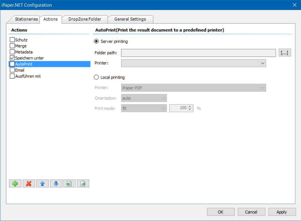 iPaper   PDF Printer, Digital Stationery, PDFA, Overlay, XML, MDX